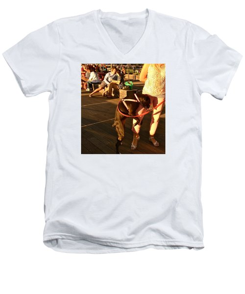 September Romance Men's V-Neck T-Shirt