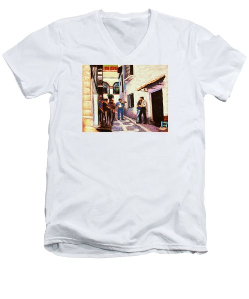 Seranade Men's V-Neck T-Shirt