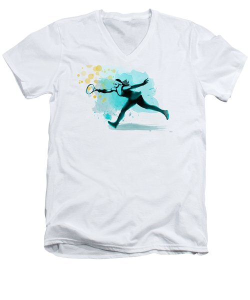 Serena Men's V-Neck T-Shirt