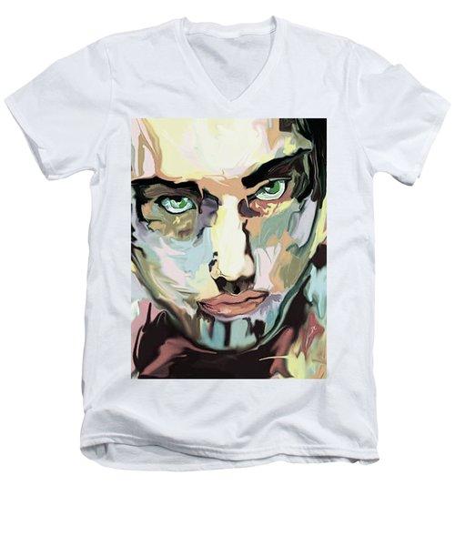 Serious Face Men's V-Neck T-Shirt