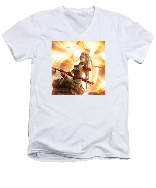 Serra Avatar Men's V-Neck T-Shirt