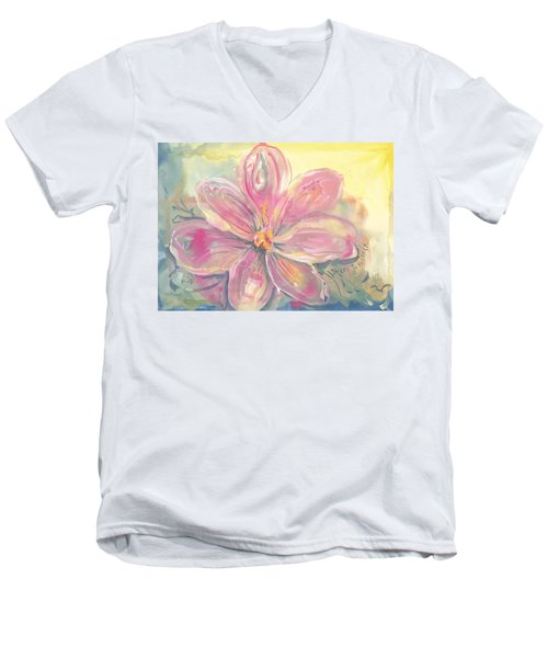 Seven Petals Men's V-Neck T-Shirt