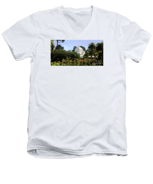 Sf Park Arbortorum Men's V-Neck T-Shirt