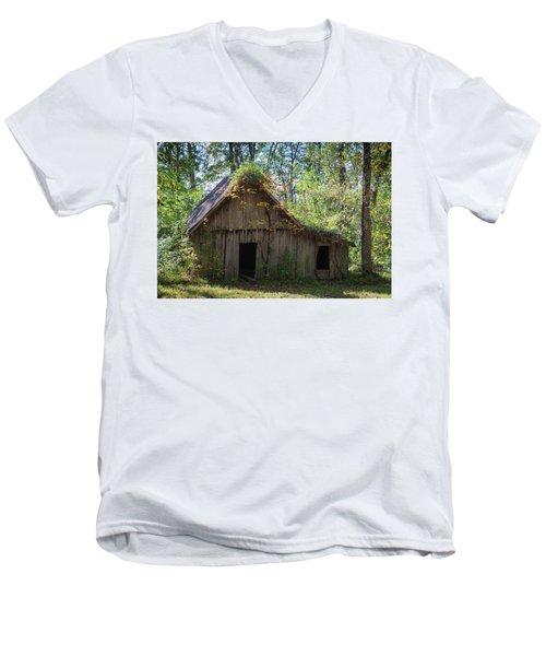 Shack In The Woods Men's V-Neck T-Shirt