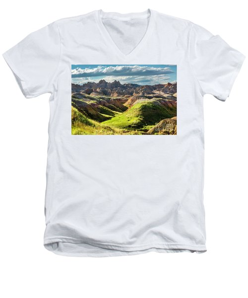 Shades Of Light Men's V-Neck T-Shirt