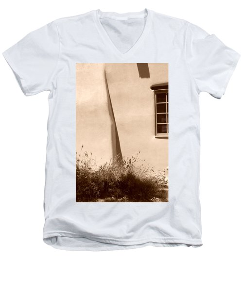 Shadows And Light In Santa Fe Men's V-Neck T-Shirt