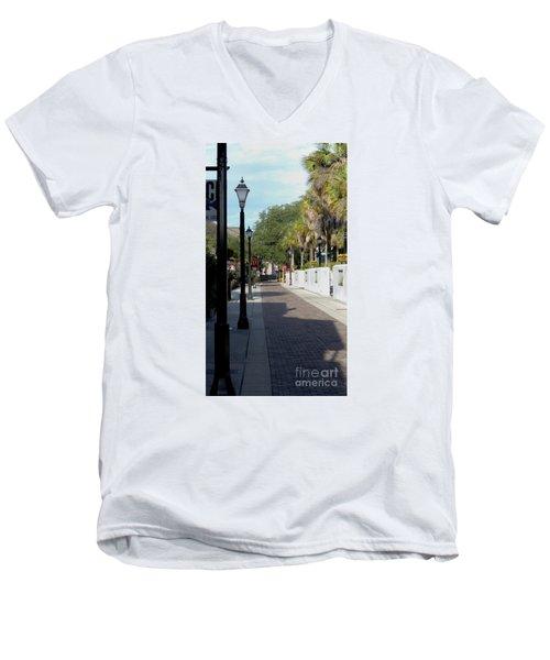Shady Hypolita Street Men's V-Neck T-Shirt