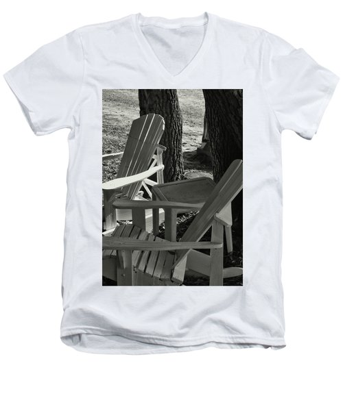 Shady Spot Men's V-Neck T-Shirt