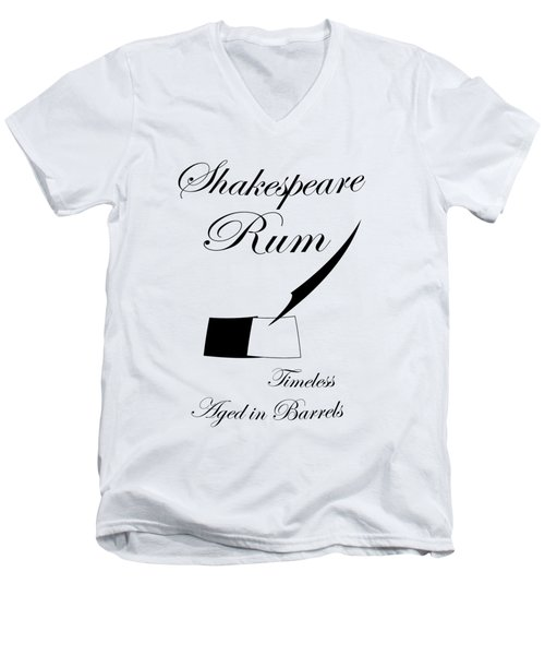 Shakespeare Men's V-Neck T-Shirt