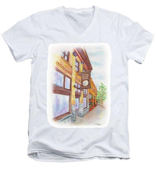 Shakespeare Time Men's V-Neck T-Shirt