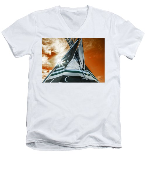 Shamans Tipi Men's V-Neck T-Shirt