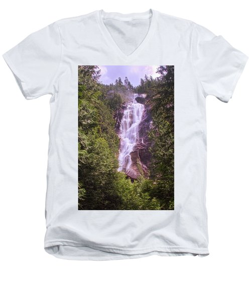 Shannon Falls Men's V-Neck T-Shirt