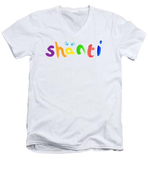 Shanti Men's V-Neck T-Shirt