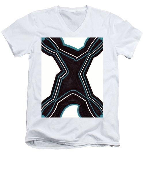 Shapely Men's V-Neck T-Shirt