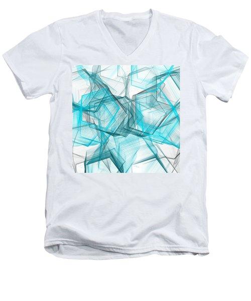 Shapes Galore Men's V-Neck T-Shirt