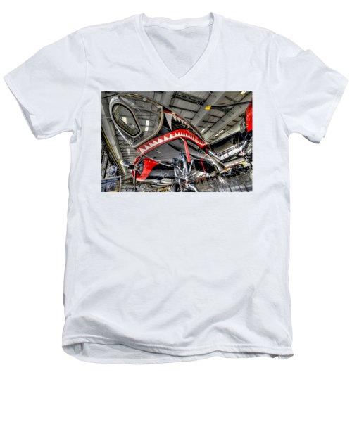 Shark Bite 2 Men's V-Neck T-Shirt