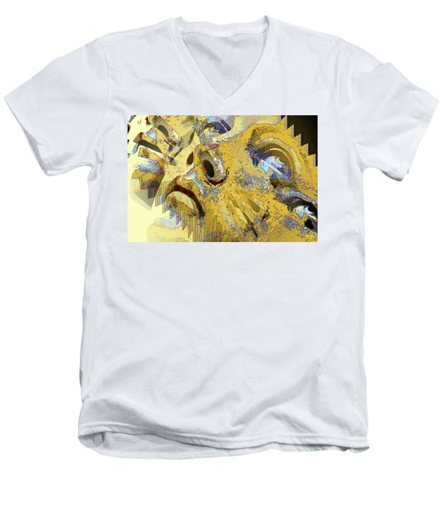 Shattered Illusions Men's V-Neck T-Shirt
