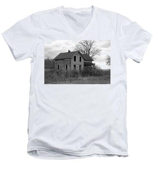 Shattered Ties Men's V-Neck T-Shirt