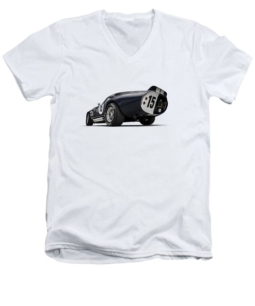 Shelby Daytona Men's V-Neck T-Shirt by Douglas Pittman
