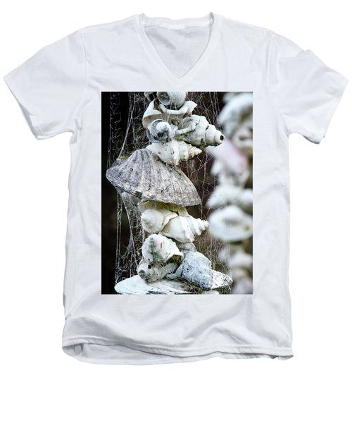 Shells Composition Men's V-Neck T-Shirt