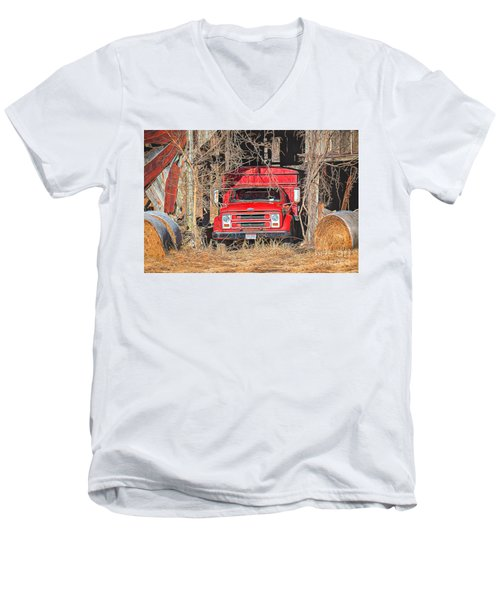 Shelter From The Weather Men's V-Neck T-Shirt