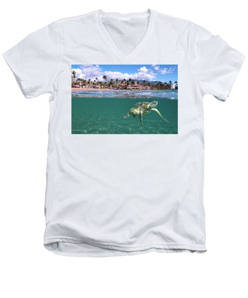 Sheraton Maui Men's V-Neck T-Shirt