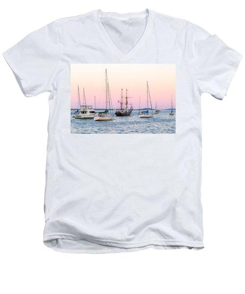 Ship Out Of Time Men's V-Neck T-Shirt
