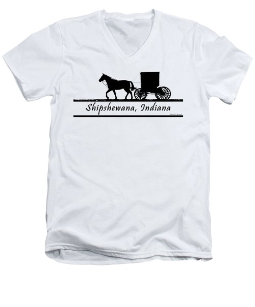 Shipshewana T-shirt Design Men's V-Neck T-Shirt