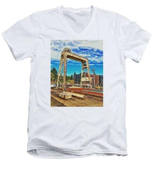 Shipyard Lunch Break Men's V-Neck T-Shirt