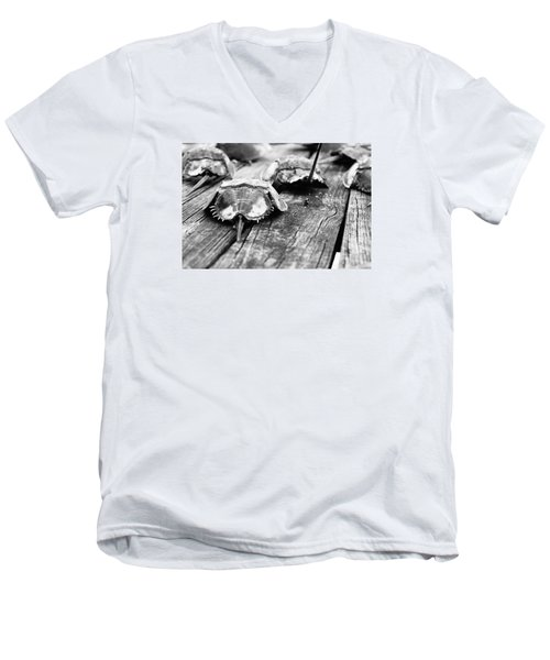 Shoes On The Table Men's V-Neck T-Shirt
