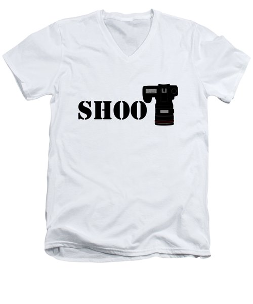 Shoot Men's V-Neck T-Shirt