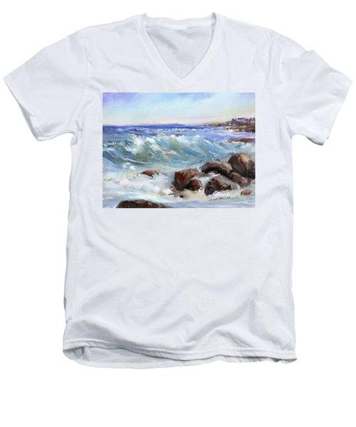 Shore Is Breathtaking Men's V-Neck T-Shirt