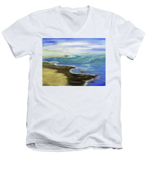 Shoreline Men's V-Neck T-Shirt