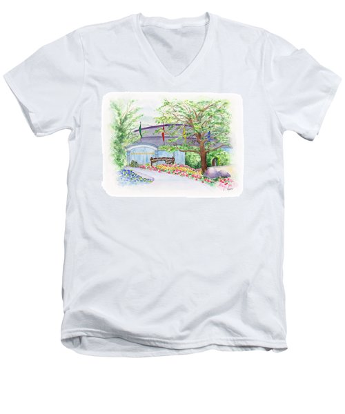 Show Time Men's V-Neck T-Shirt