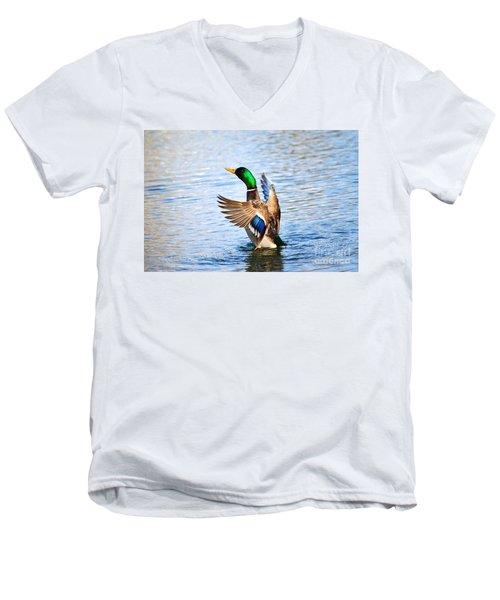 Showing Off Men's V-Neck T-Shirt