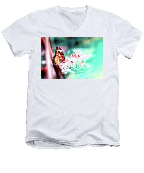 Shy Boy Men's V-Neck T-Shirt