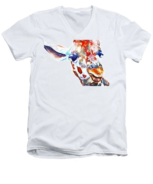Side Eye Men's V-Neck T-Shirt