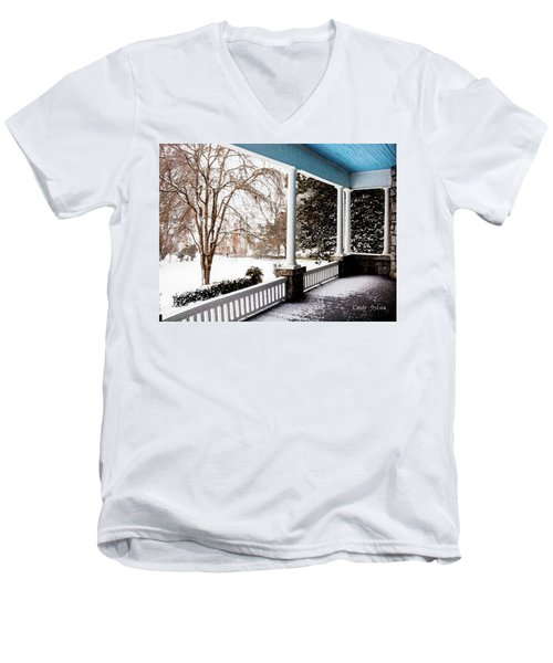 Side Porch Men's V-Neck T-Shirt