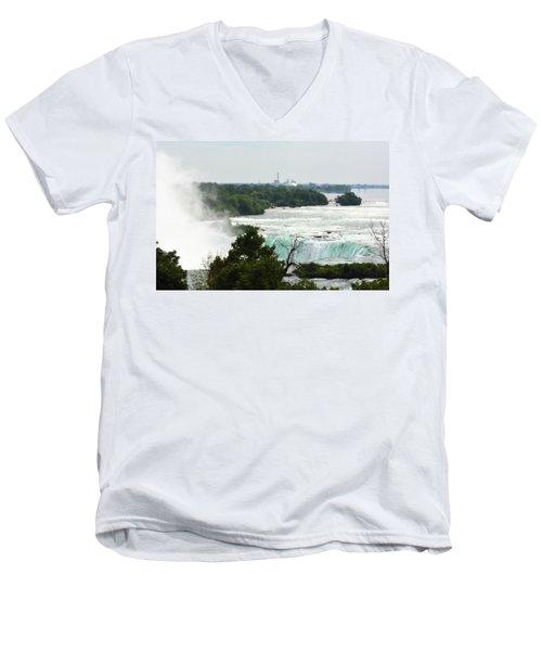 Sideview Mist Men's V-Neck T-Shirt