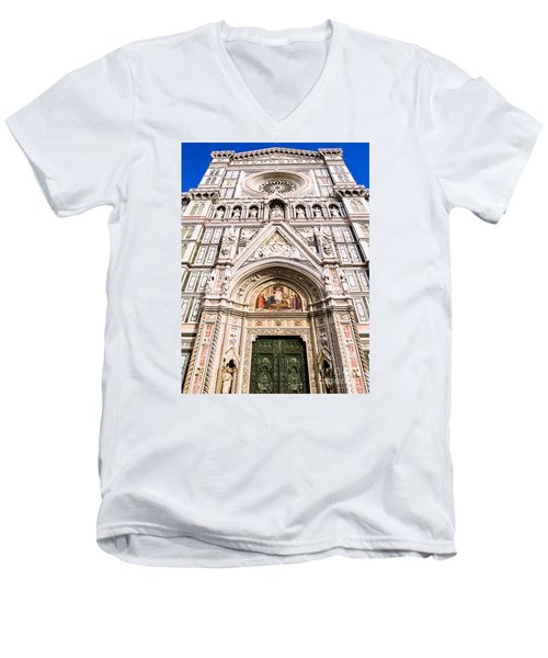 Siena Cathedral Men's V-Neck T-Shirt