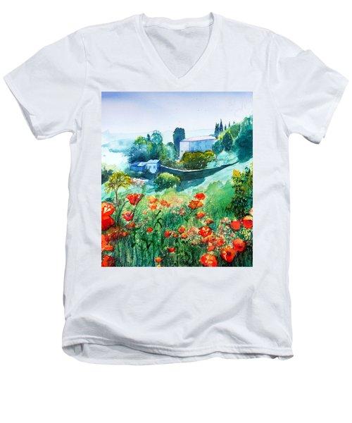 Siena View Men's V-Neck T-Shirt