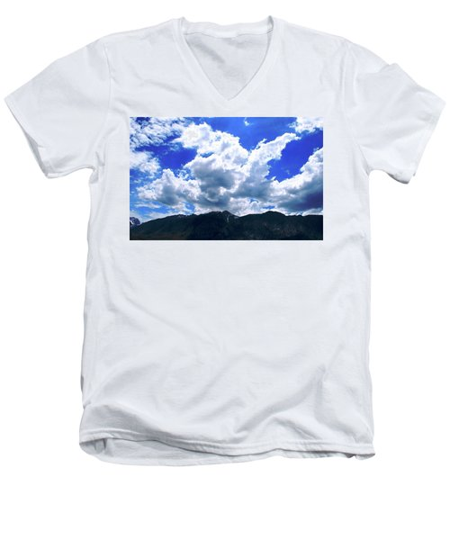 Sierra Nevada Cloudscape Men's V-Neck T-Shirt