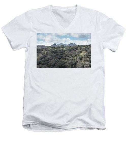Sierra Ronda, Andalucia Spain Men's V-Neck T-Shirt