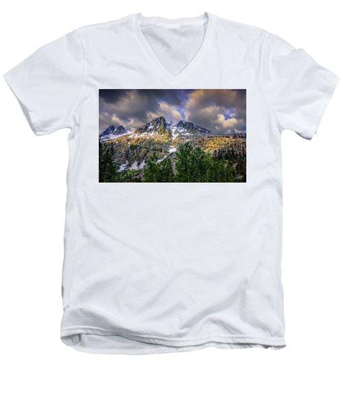 Sierra Sunrise Men's V-Neck T-Shirt