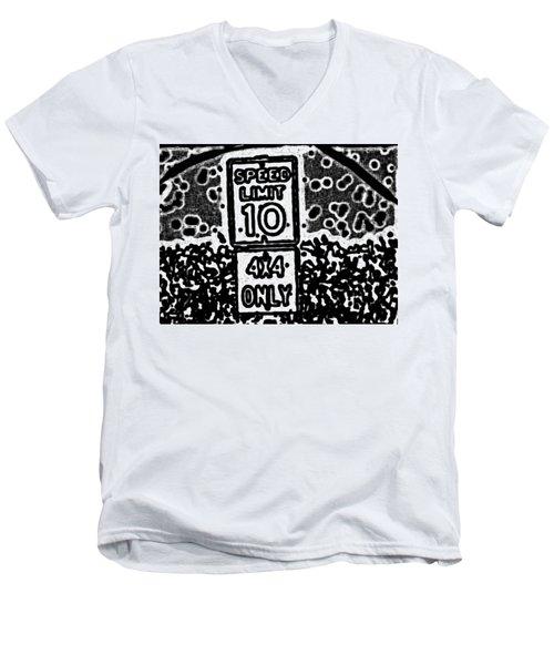 Sign To Elsewhere Men's V-Neck T-Shirt