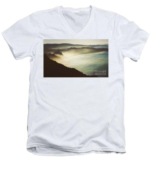Silent Morning  Men's V-Neck T-Shirt
