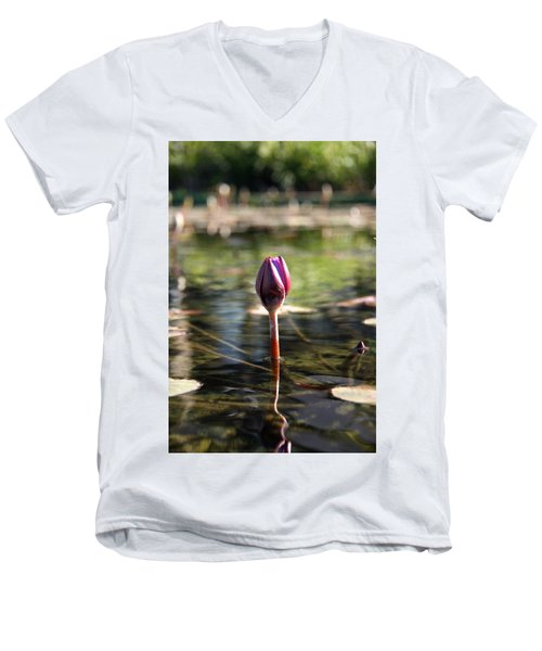 Silent. Men's V-Neck T-Shirt