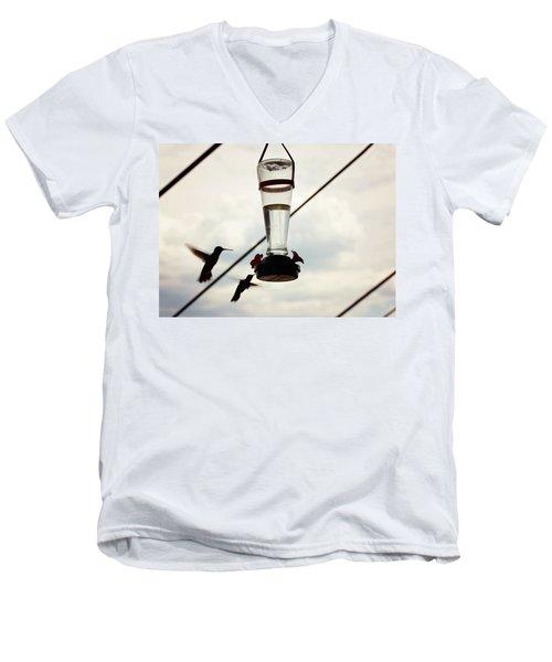 Silhouette Men's V-Neck T-Shirt