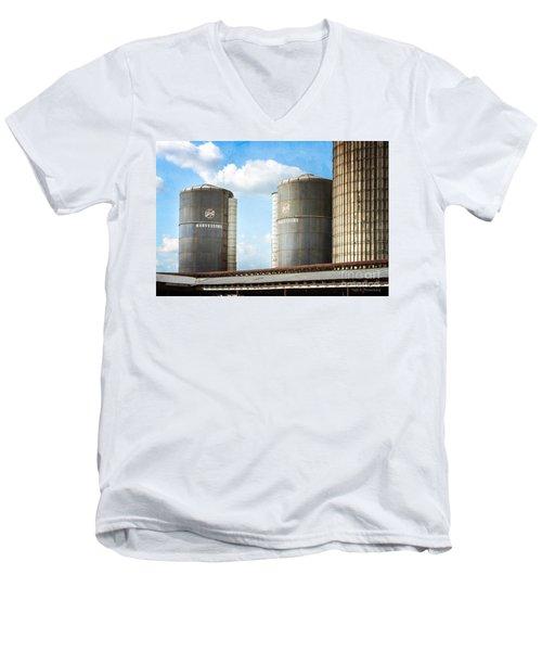 Silos Men's V-Neck T-Shirt
