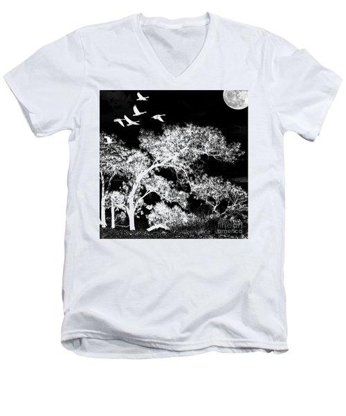 Silver Nights Men's V-Neck T-Shirt